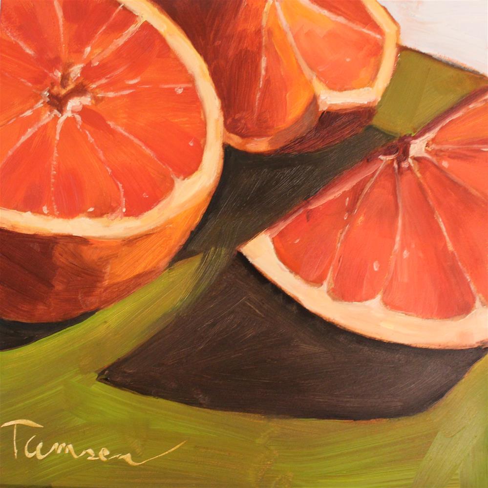 """Tart Trio"" original fine art by Tamsen Armstrong"