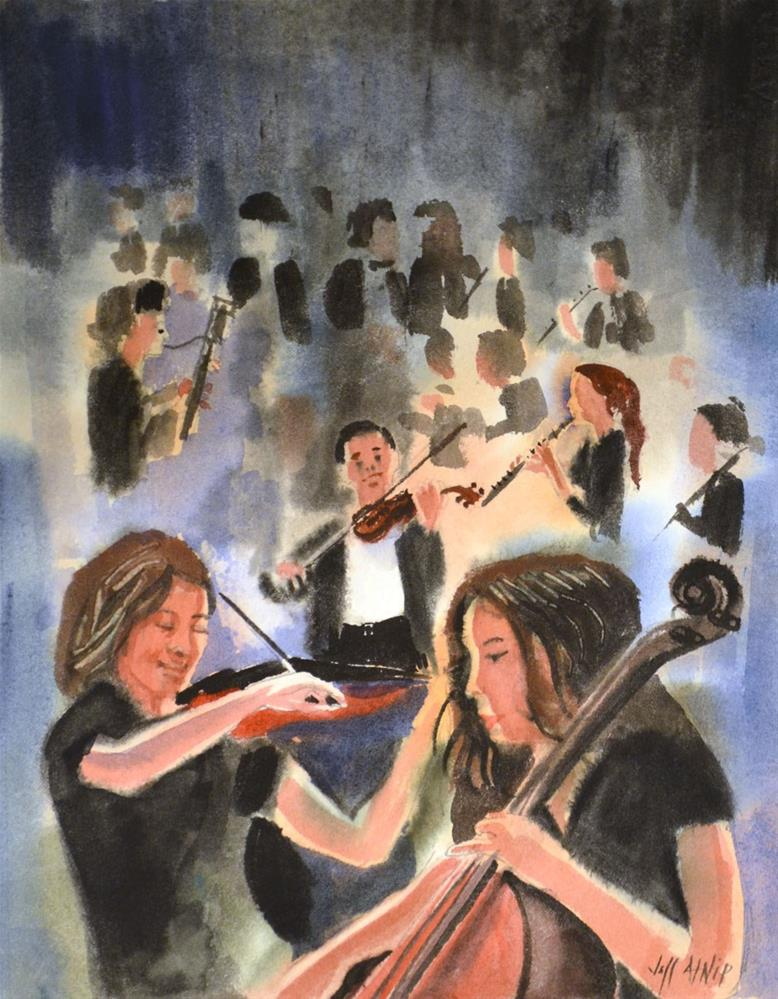 """Youth Symphony"" original fine art by Jeff Atnip"