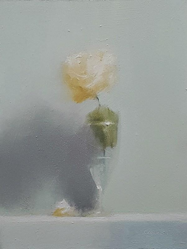 """""""Rose Glass"""" original fine art by Neil Carroll"""