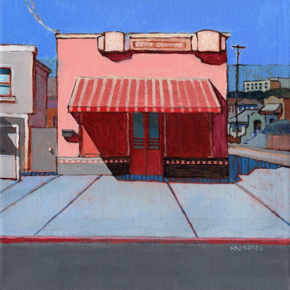 """Old Corner Store, Alameda"" original fine art by Nancy Roberts"