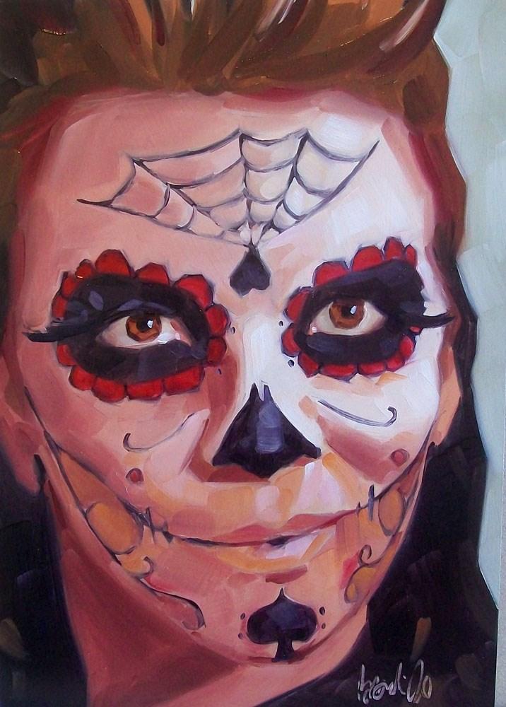 """Sally"" original fine art by Brandi Bowman"