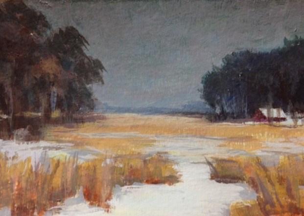 """Jidana Winter"" original fine art by Judith Anderson"