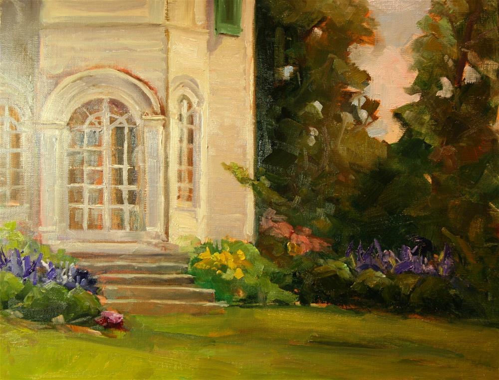 """Belmont"" original fine art by Carol Josefiak"