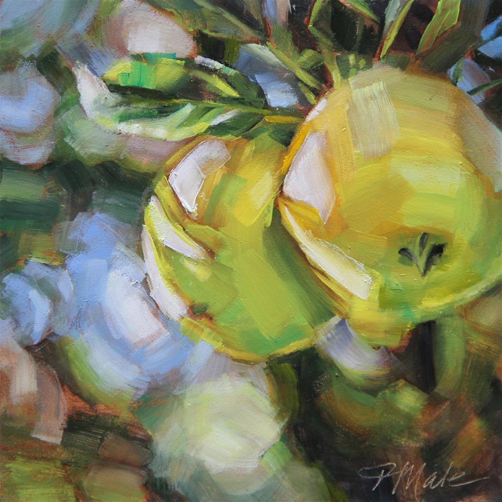 """""""Apple Tree"""" original fine art by Tracy Male"""