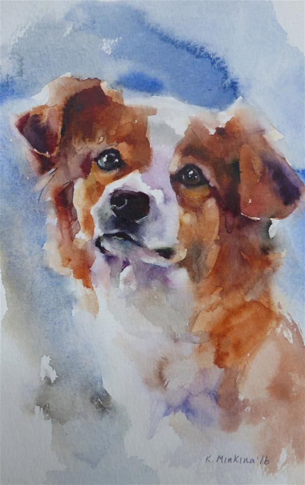 """adopt187"" original fine art by Katya Minkina"