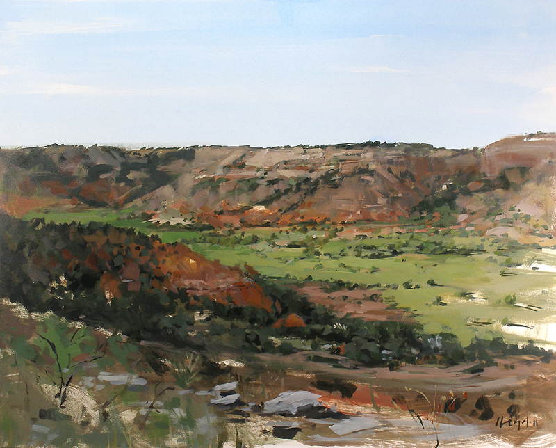"""Palo Duro Canyon"" original fine art by David Lloyd"