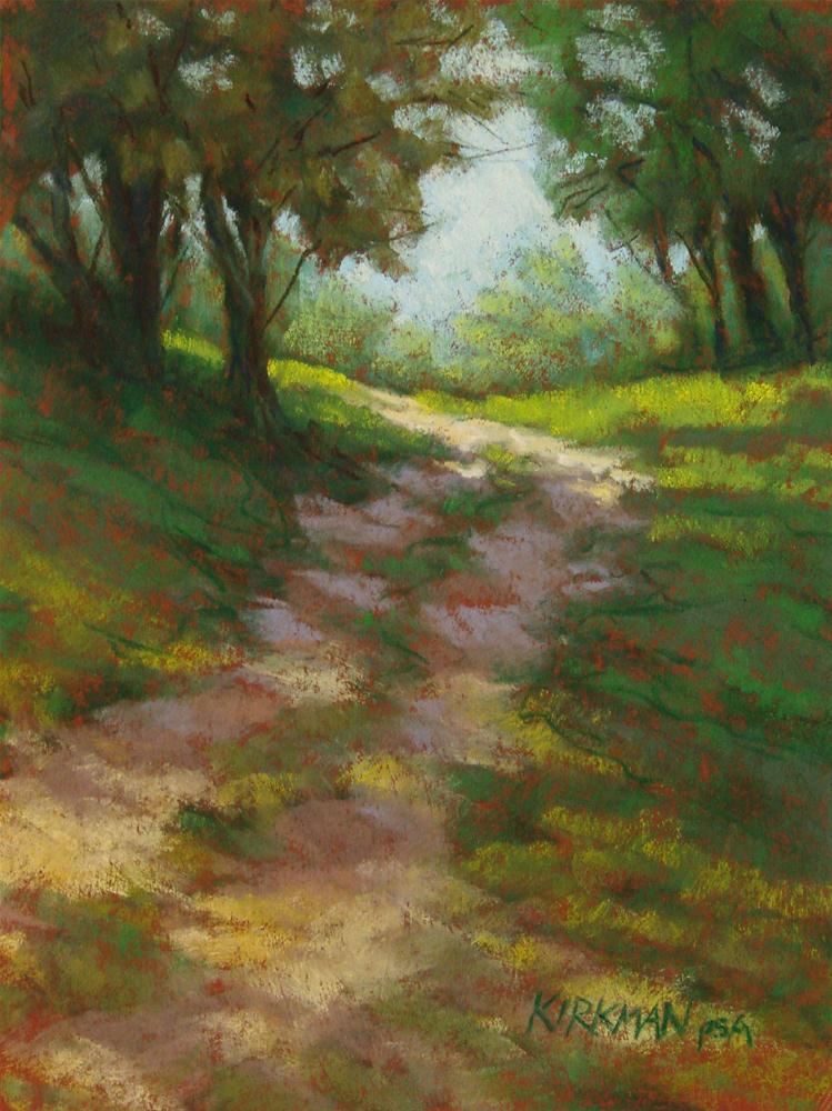 """""""Park Trail #12"""" original fine art by Rita Kirkman"""