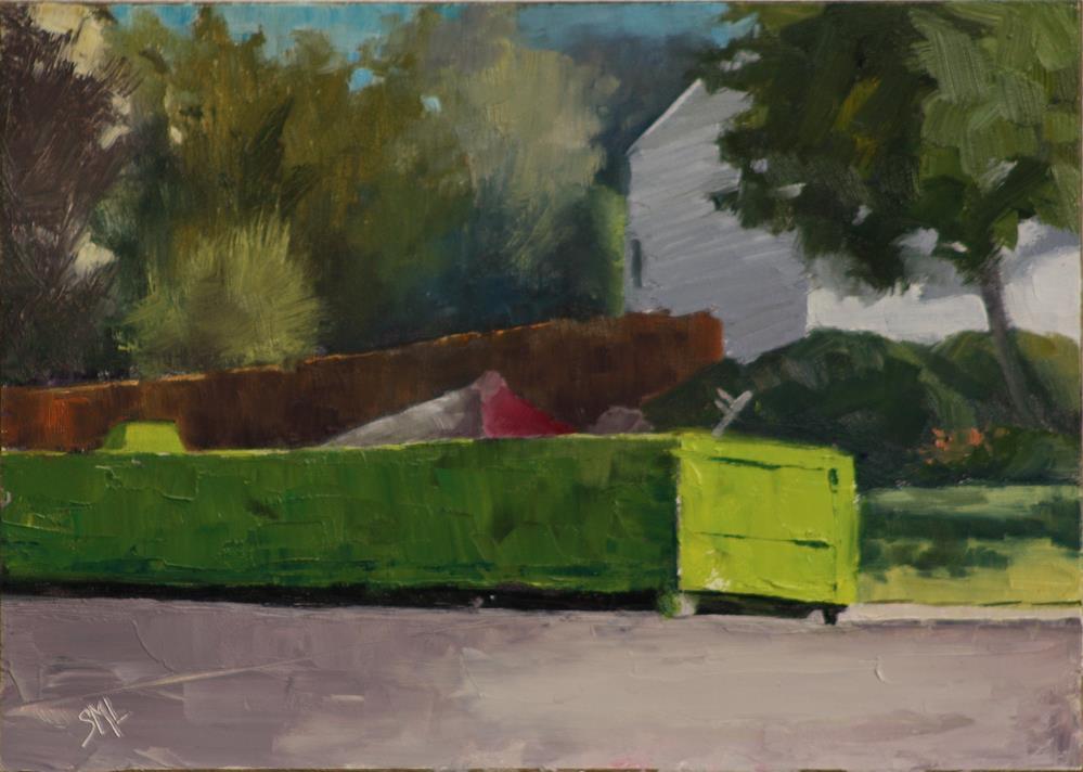 """Start of the Remodel"" original fine art by Sheila Marie"