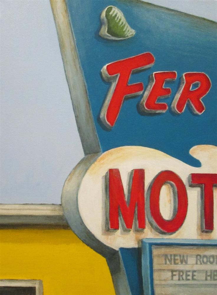 """Ferns"" original fine art by Debbie Shirley"