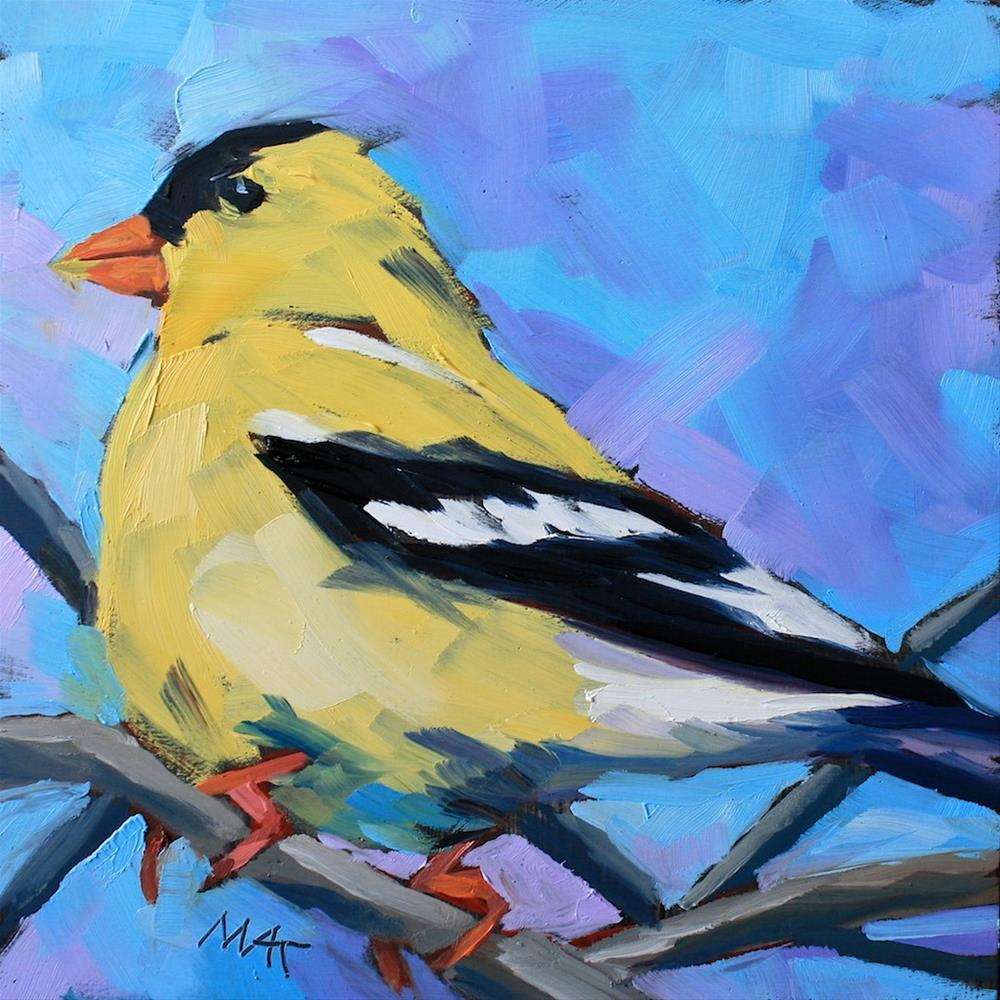 """""""Goldy"""" original fine art by Mary Anne Cary"""