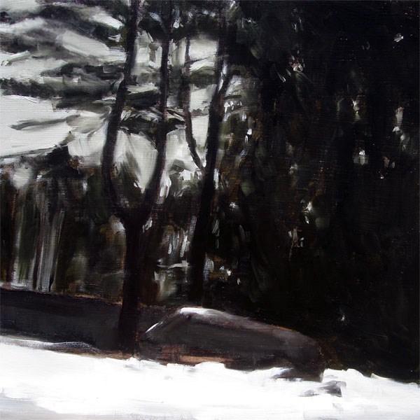 """Connecticut Snow (no.52)"" original fine art by Michael William"