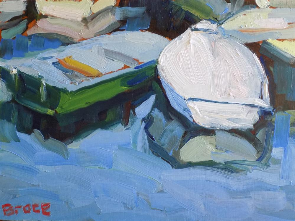 """Duxbury Dinghys"" original fine art by Rita Brace"