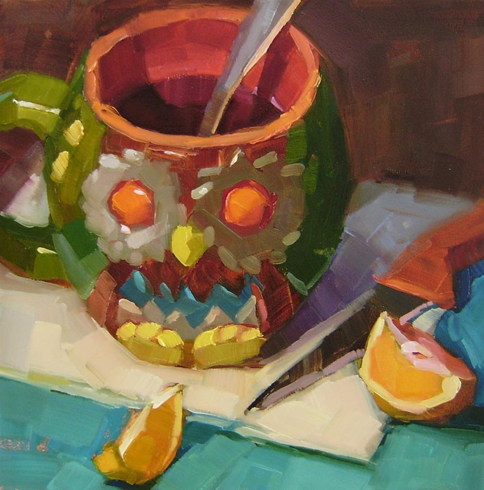 """Night Owl"" original fine art by Holly Storlie"