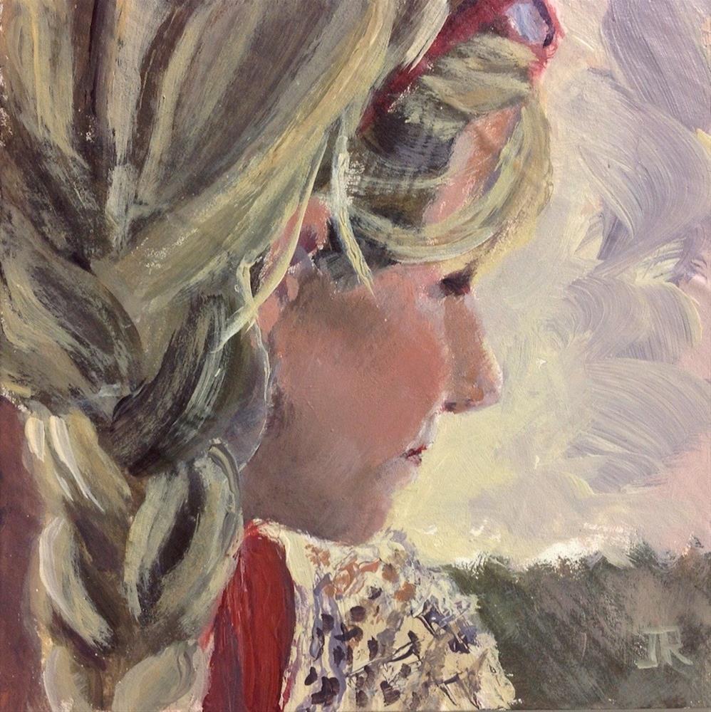 """""""Hope Beyond Measure"""" original fine art by June Rollins"""