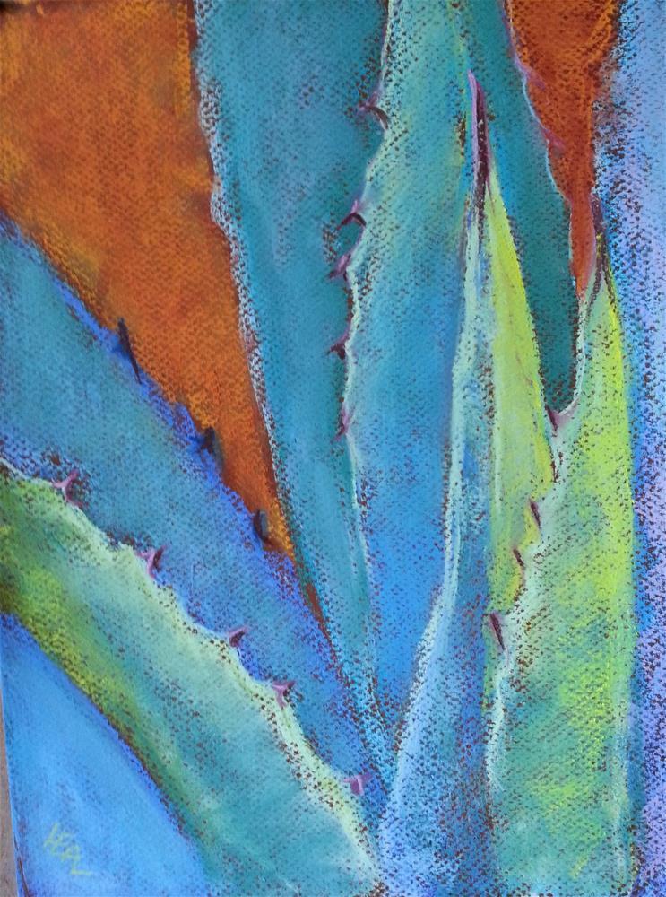 """Agave Rays"" original fine art by Anna Lisa Leal"