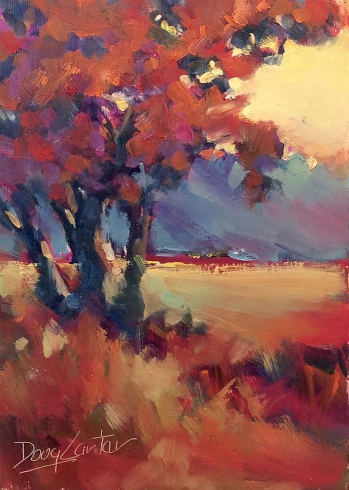 """ In the Shade "" original fine art by Doug Carter"