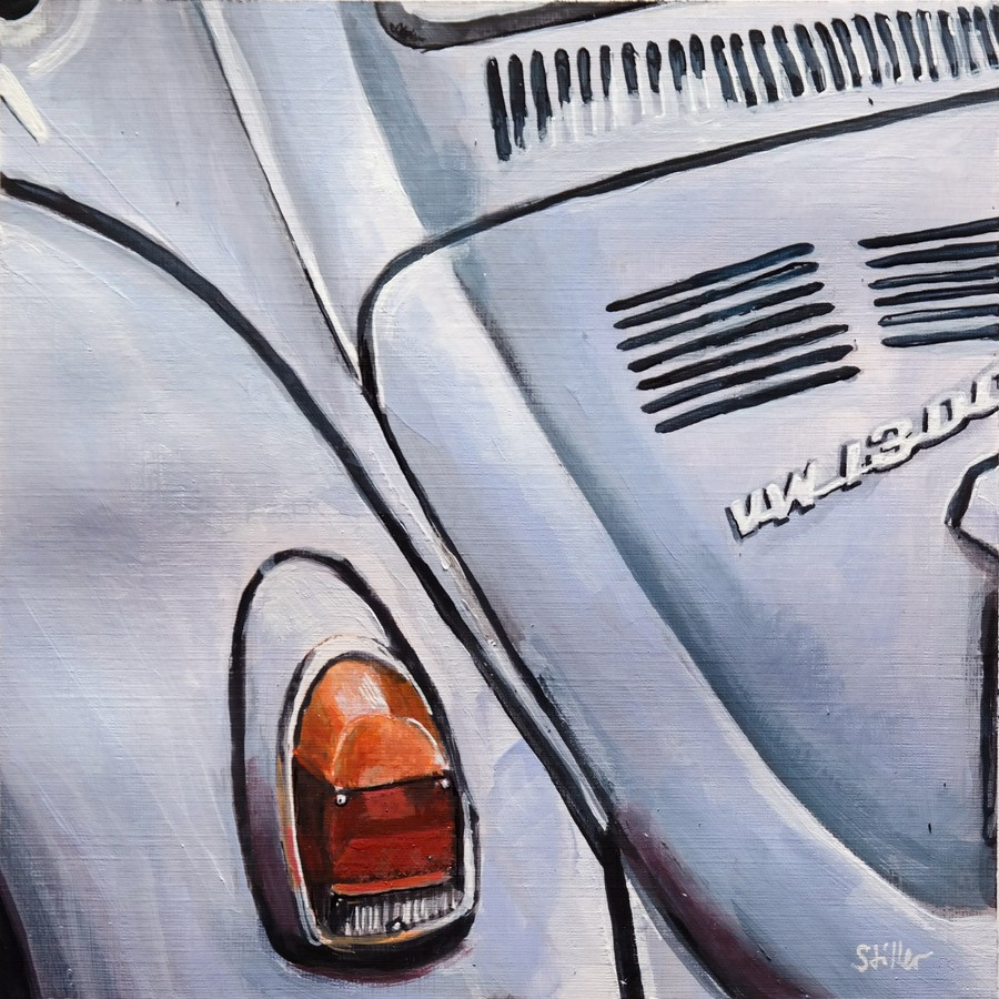 """2773 Smart Beetle"" original fine art by Dietmar Stiller"