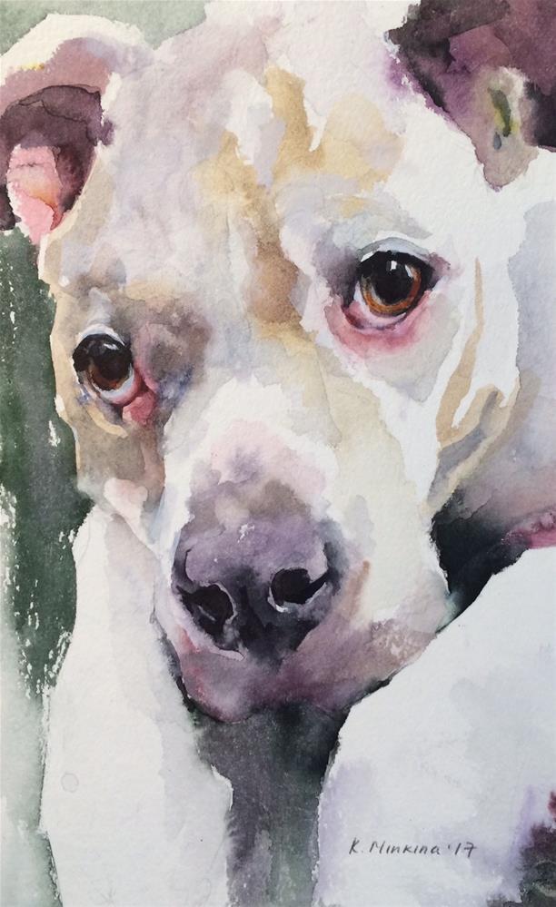 """adopt237"" original fine art by Katya Minkina"