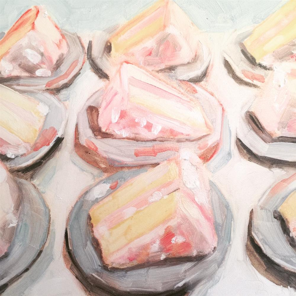 """624 Nine Slices"" original fine art by Jenny Doh"