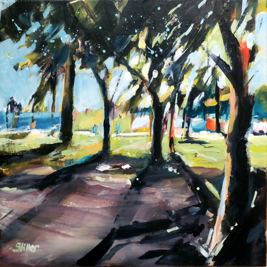 """3011 Osna Palm Beach"" original fine art by Dietmar Stiller"