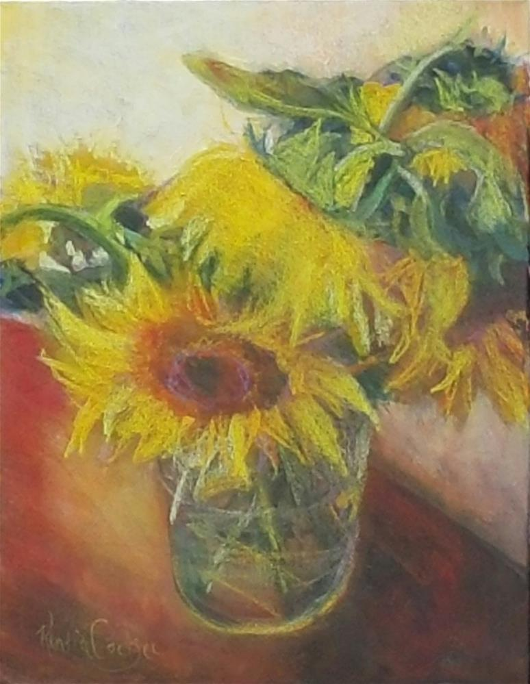 """Sunny disposition"" original fine art by Rentia Coetzee"