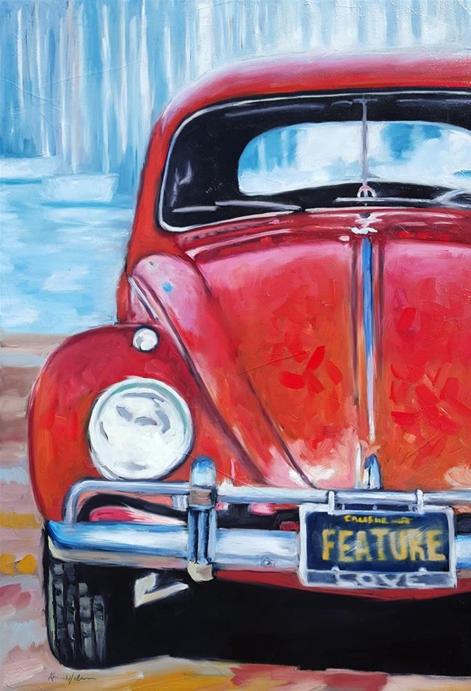 """""""Its Not a Bug"""" original fine art by Karen Weber"""