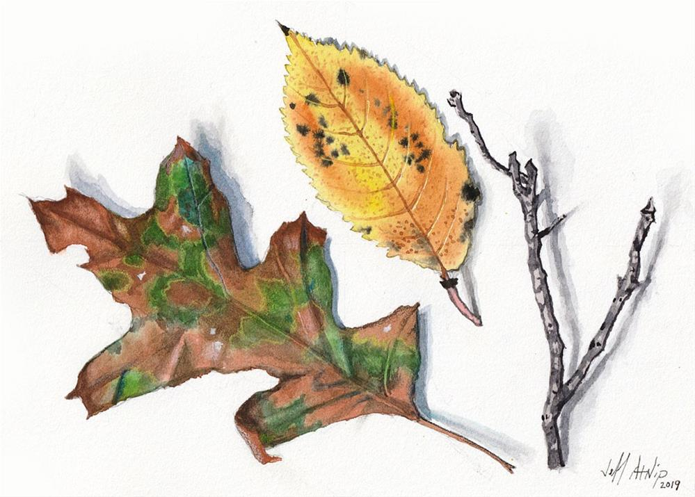 """Early Autumn"" original fine art by Jeff Atnip"