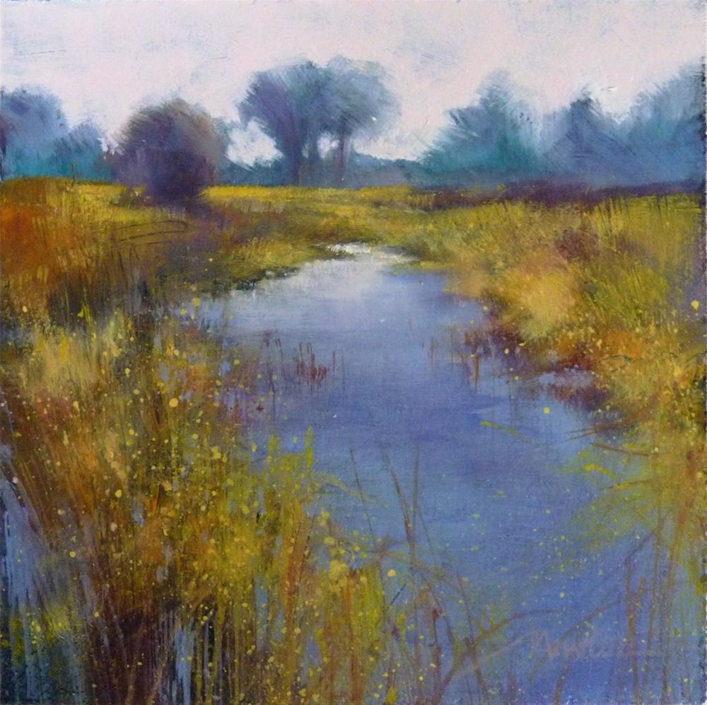 """""""Oil Study 12"""" original fine art by Barbara Benedetti Newton"""