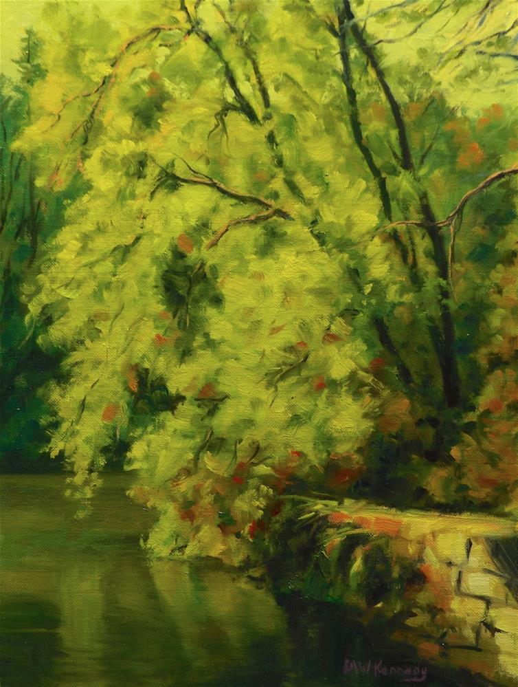 """Summer Glow"" original fine art by Michael Kennedy"