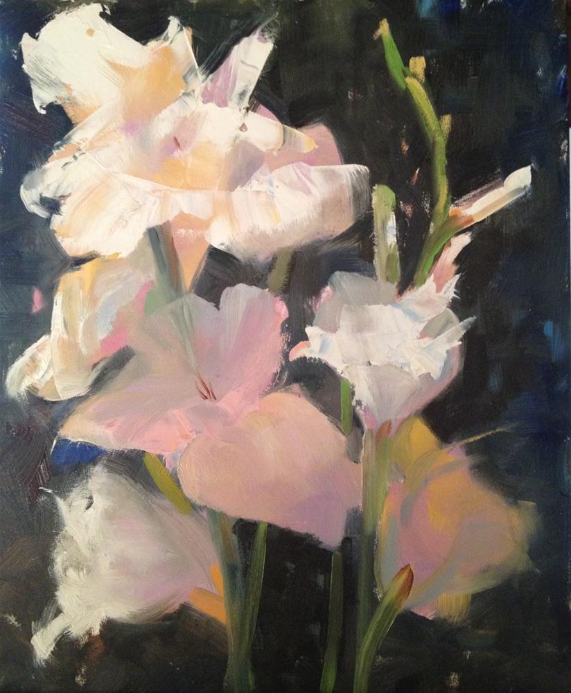 """""""Glad to See You, 8x10"""" original fine art by Ann Feldman"""