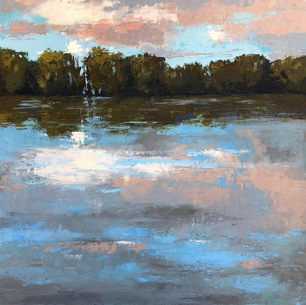"""Reflective Moment"" original fine art by Sherri Cassell"