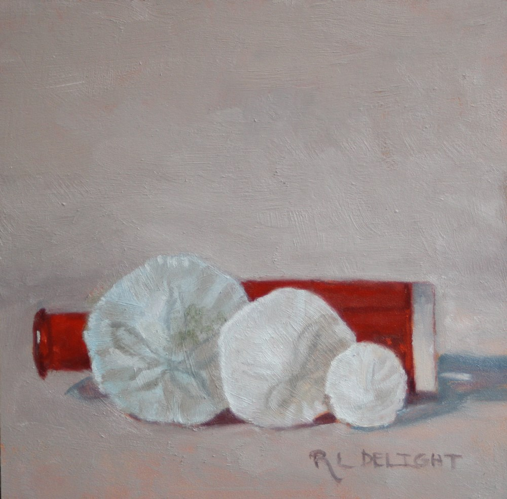 """""""Three Dollars-With Inflation"""" original fine art by R.L. Delight"""