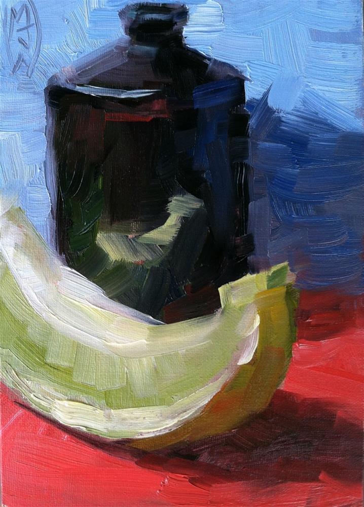 """""""Slice of Melon"""" original fine art by Michael Williamson"""