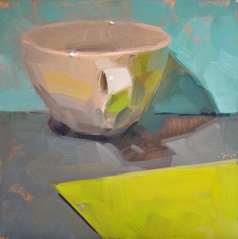 """Simple Cup 2"" original fine art by Carol Marine"