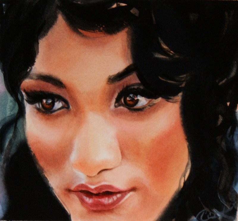 """Enkindle"" original fine art by Crystal Cook"