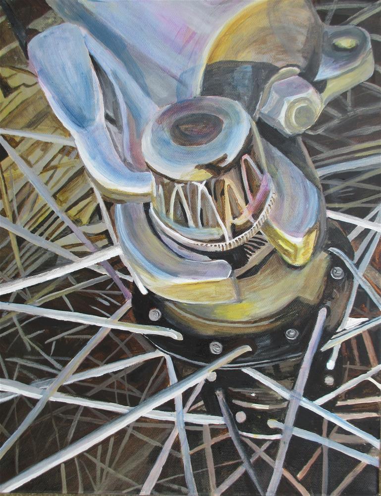 """""""Ready"""" original fine art by Lisa Wiertel"""