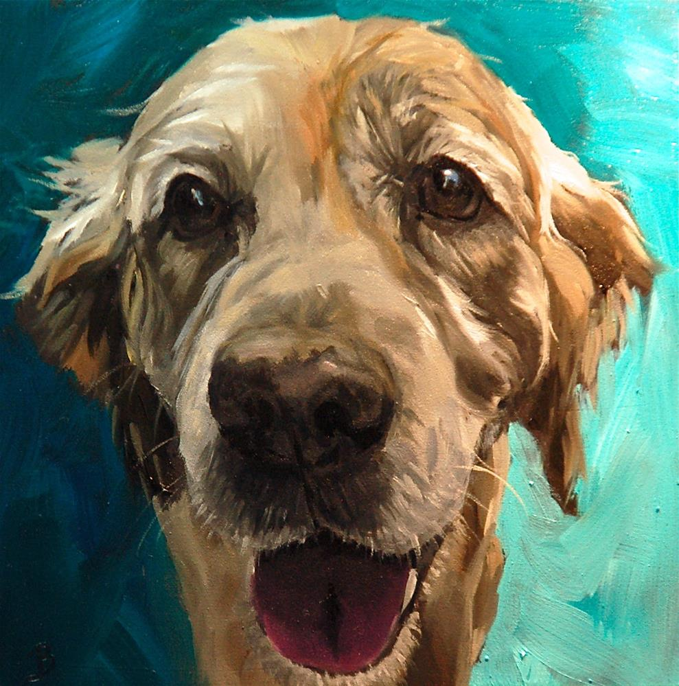 """Ralph"" original fine art by Philla Barkhorn"