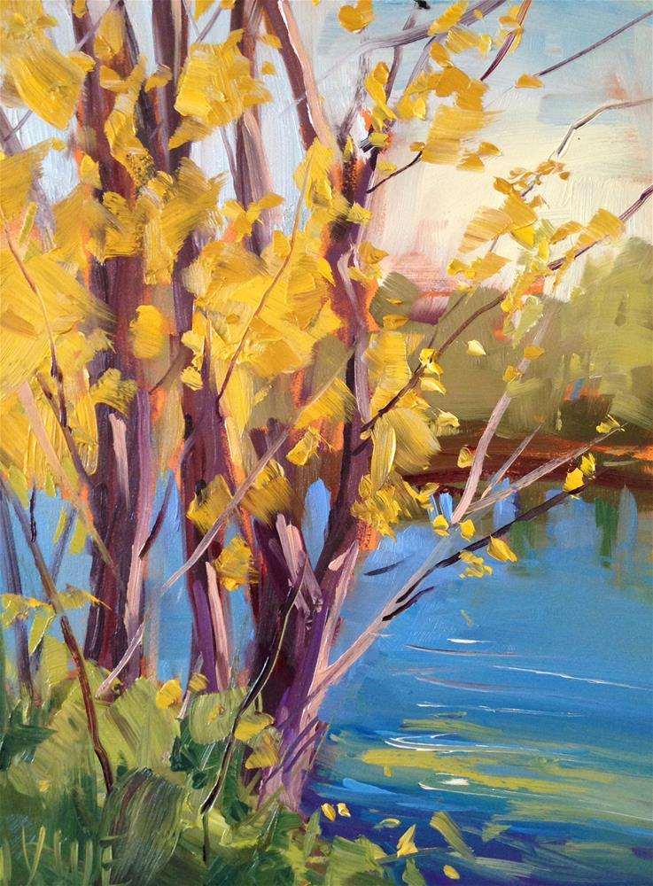 """#185 Color Fav"" original fine art by Patty Voje"