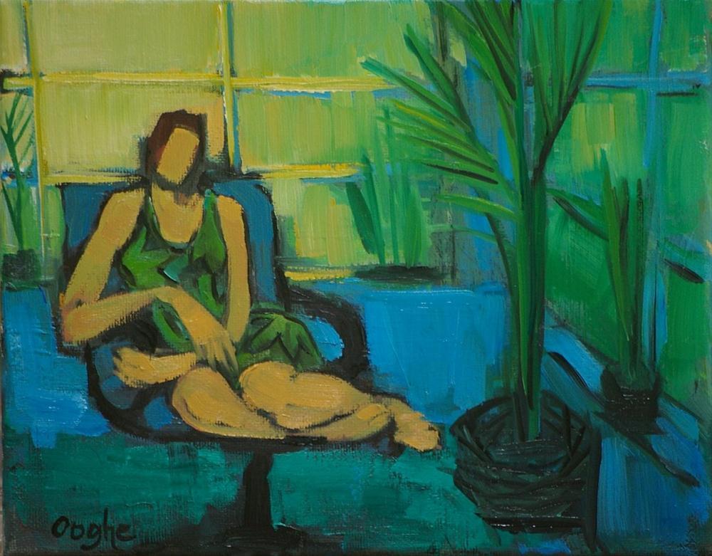 """Florida Room"" original fine art by Angela Ooghe"