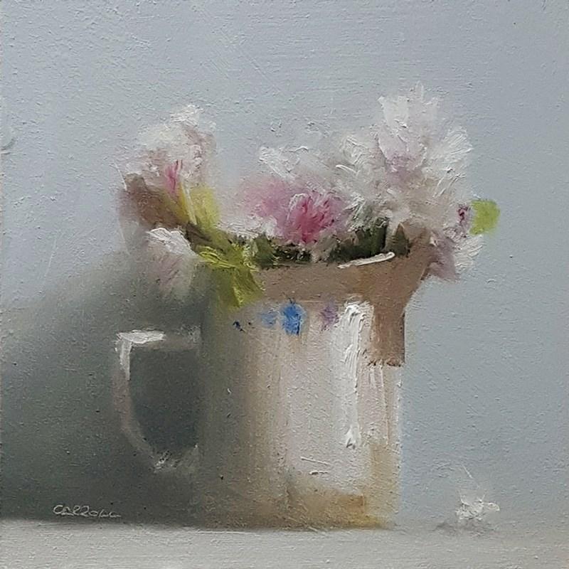 """Flower Jug"" original fine art by Neil Carroll"