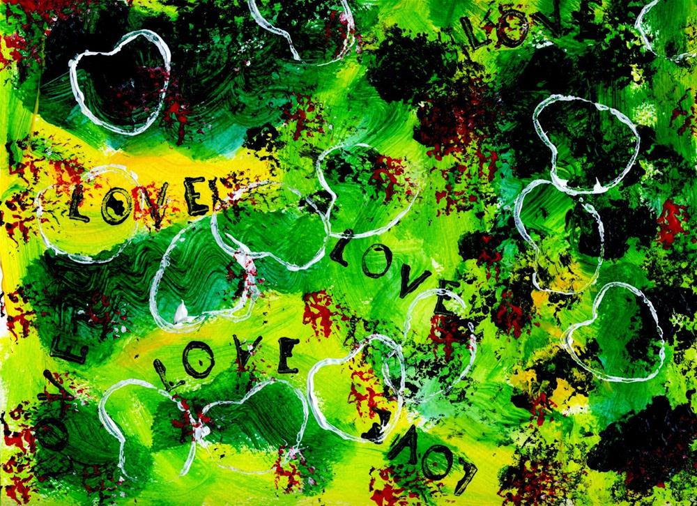 """""""Love is Loud"""" original fine art by Kali Parsons"""