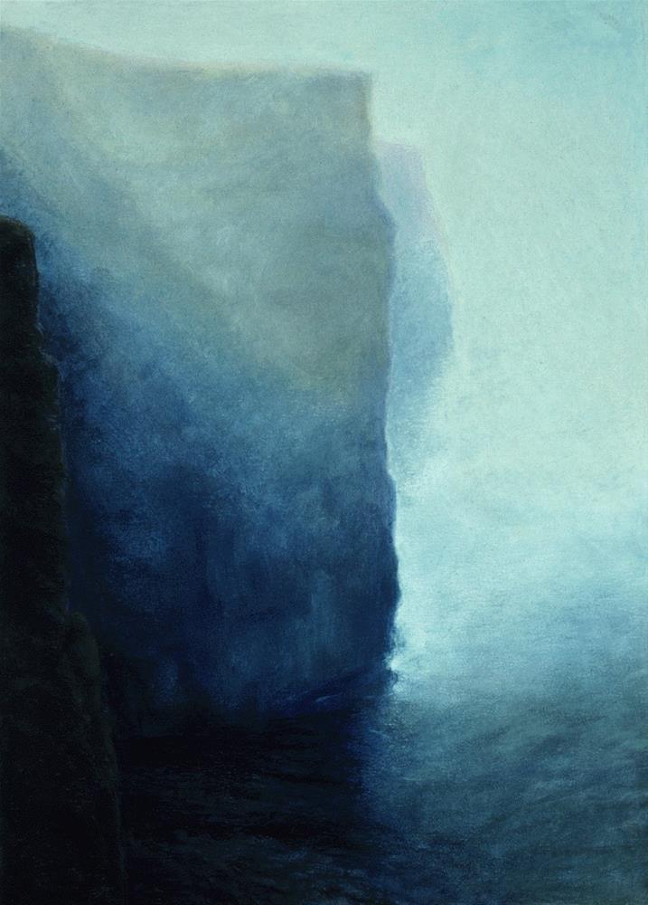 """""""Cliffs of Moher"""" original fine art by Joe Fitzgerald"""