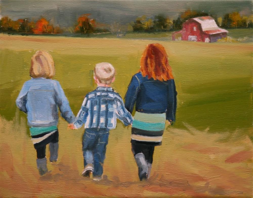 """Tennesseans"" original fine art by Carol Carmichael"