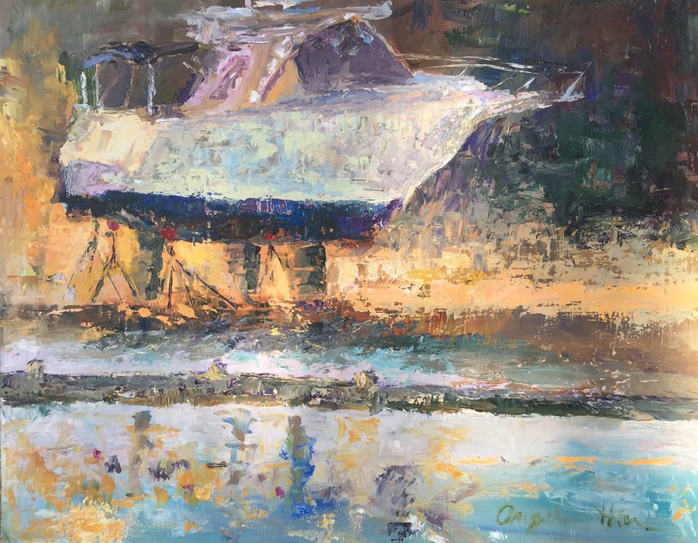 """Floating on Sunshine"" original fine art by Angela Hansen"
