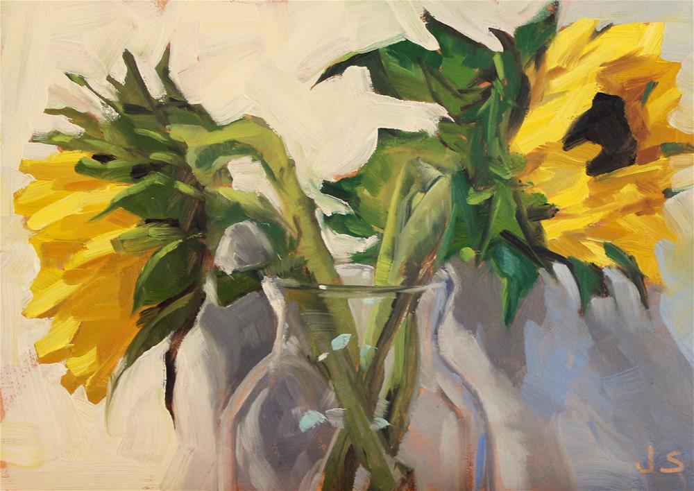 """Last Light"" original fine art by Jamie Stevens"