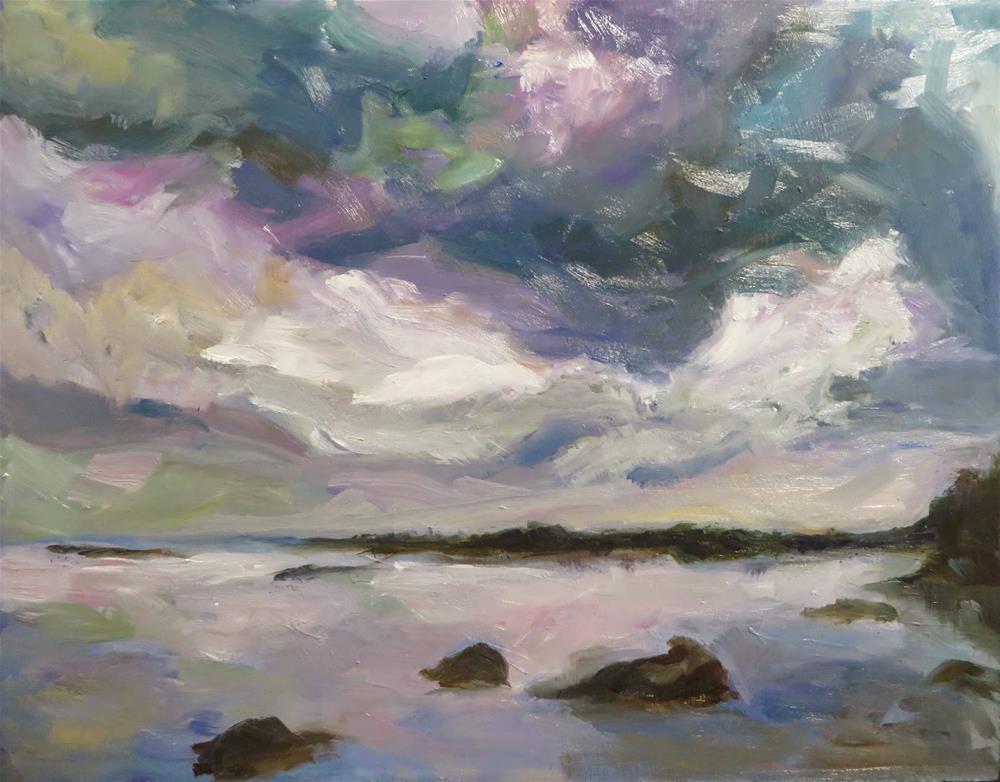 """561 Lake Fanny Hoe2"" original fine art by Diane Campion"