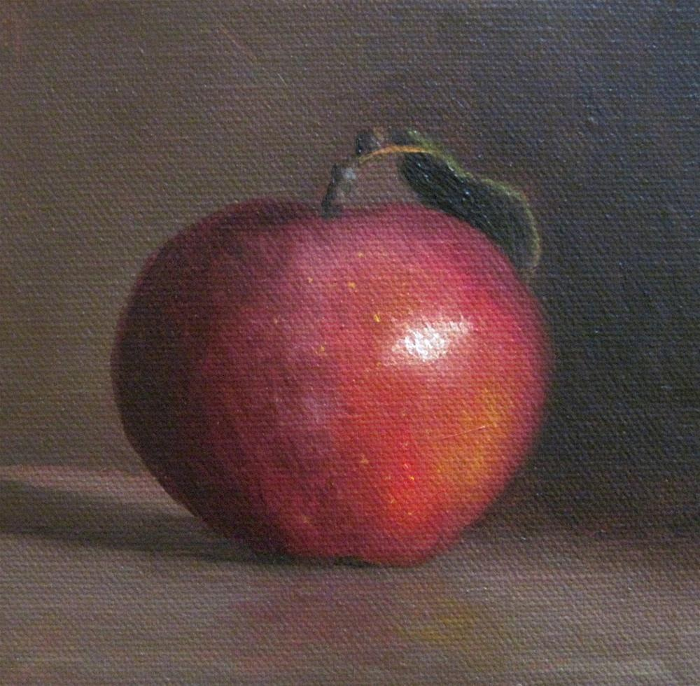 """Macintosh"" original fine art by Michelle Garro"