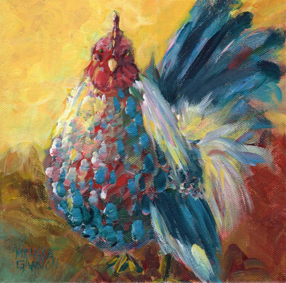 """Hall of Famer"" original fine art by Melissa Gannon"
