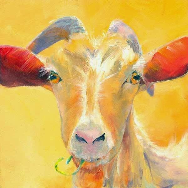 """""""Snackin'"""" original fine art by Brenda Ferguson"""