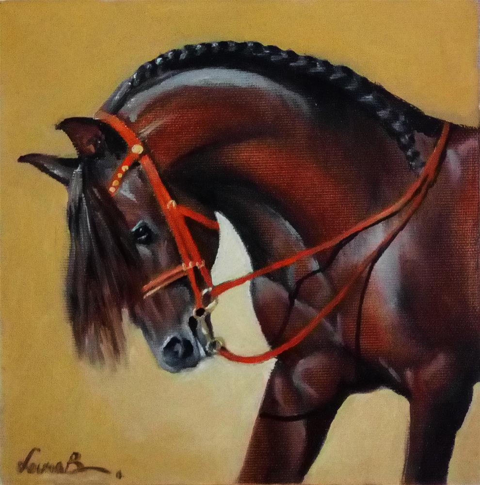"""Cicero"" original fine art by Laura B."